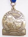 Hatfield McCoy Half Marathon Medal 2009