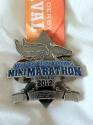 Kentucky Derby Half Marathon Medal 2012