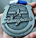 Run the Bluegrass Half Marathon Medal 2012
