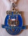 Ole Man River Half Marathon Medal 2011