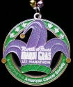 Rock and Roll Mardi Gras Half Marathon Medal 2011