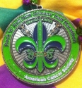 Rock and Roll Mardi Gras Half Marathon Medal 2012