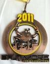 Baltimore Half Marathon Medal 2011