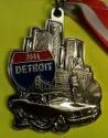 Detroit Half Marathon Medal 2011