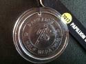Papillion Half Marathon Medal 2012