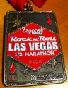 Rock and Roll Las Vegas Half Marathon Medal 2010