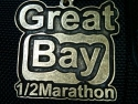 Great Bay Half Marathon Medal 2011