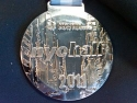 New York City Half Marathon Medal 2011