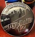 New York City Half Marathon Medal 2012