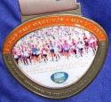 Fargo Half Marathon Medal 2011