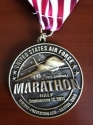 Air Force Half Marathon Medal 2011