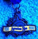 Aquarium Run Half Marathon Medal 2011