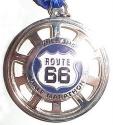 Route 66 Half Marathon Medal 2010