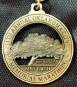 Oklahoma Memorial Half Marathon Medal 2011