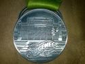 Eugene Half Marathon Medal 2011