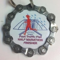 Foot Traffic Flat Half Marathon Medal 2010