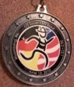 Half Sauer Half Kraut Half Marathon Medal 2010