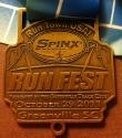Spinx Run Fest Half Marathon Medal 2011