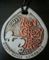 Run Crazy Horse Half Marathon Medal 2011