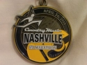 Country Music RnR Half Marathon Medal 2010