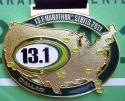 13.1 Dallas Half Marathon Medal 2011