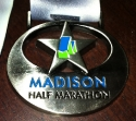 Madison Half Marathon Medal 2011