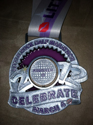 Little Rock Half Marathon Medal 2012
