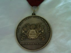 Oak Brook Half 2009 medal