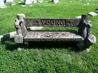 Sweet Grave Bench