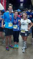 Kristin, Mike and Karen - post Boston Half