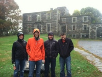 Soaked at the Goddard Mansion