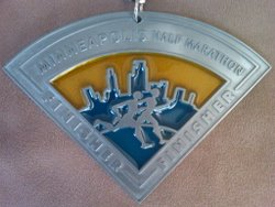 Minneapolis Half Marathon Medal