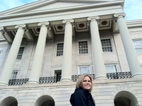 Kristin at the Old Capitol - Jackson
