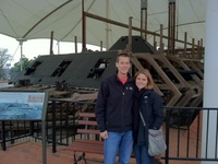 Mike & Kristin at USS Cairo