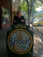 Nice breakfast at the Shack
