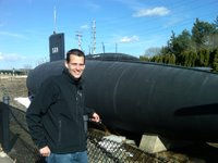 Mike at the USS Albacore