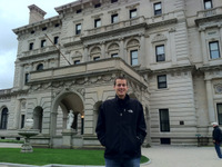 Mike at the Breakers