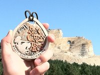 Run Crazy Horse Medal