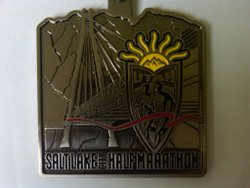 Salt Lake City Half Marathon Medal