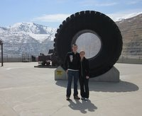 Kennecott Mine - Tire
