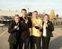 Beer Run - Complete and the medals to prove it!