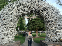 Kristin at Jackson Hole Town Square