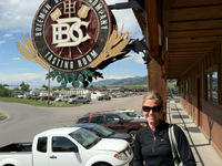 Outside Bozeman Brewing Company